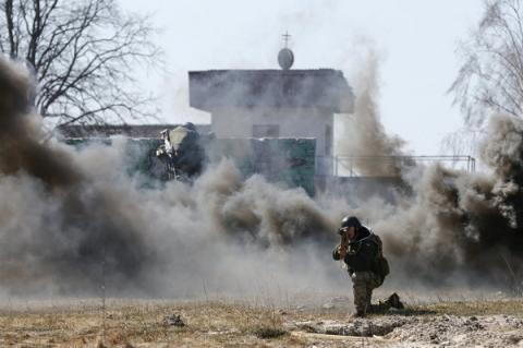 27 strikes against Ukrainian positions in ATO zone in last day reported