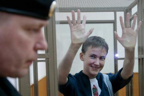 Savchenko sentenced by Russian court to 22 years in prison