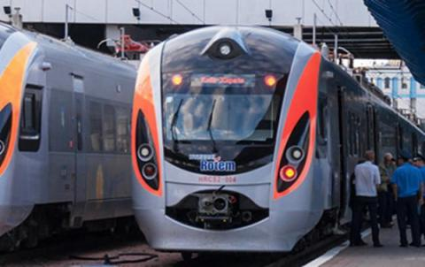 Kyiv-Dnipropetrovsk train stops over bomb threat