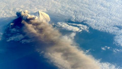 "Pavlof Volcano erupted in southwest Alaska; aviation warning raised to ""Red"""