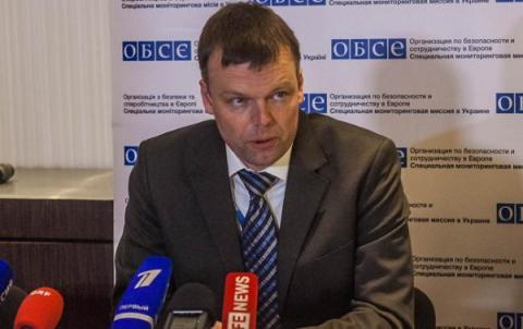 Russia planning to discredit OSCE SMM Deputy Chief - Ukrainian Defense Ministry