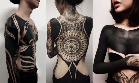 Dark art: the rise of the blackout tattoo