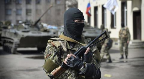 Militants fired at the outskirts of Novooleksandrivka in Donetsk region