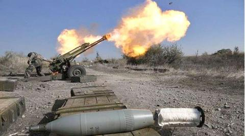 Pro-Russian militants shelled ATO positions 32 times in Donetsk direction, used barrel artillery, howitzers