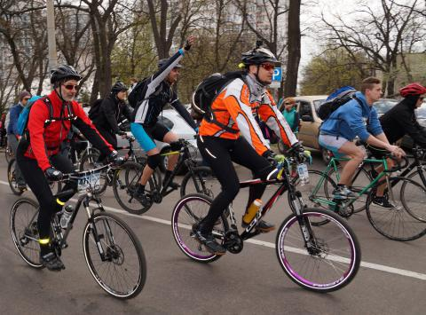Overcome the personal limits: The First International Cyclofestival in Odessa