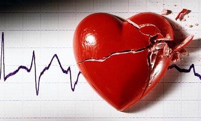 Science shows how heartbreak can sometimes actually break your heart
