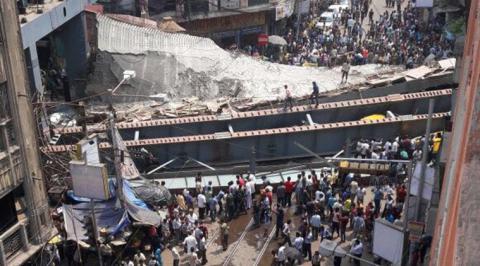 Flyover collapses in Kolkata, kills 23 (VIDEO)