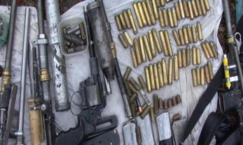 Illegal arsenal of weapons discovered in Kiev garage - Ukrainian police (PHOTO)