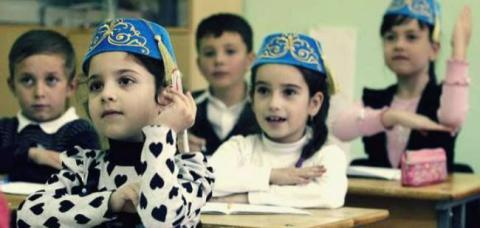 Kyiv school made a special class for Crimean Tatar children