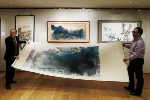 Chinese master painting sold for record $35 million in Hong Kong