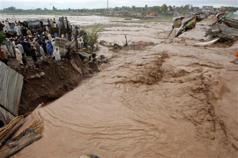 Flash floods in northern Pakistan killed 55, dozens lost homes