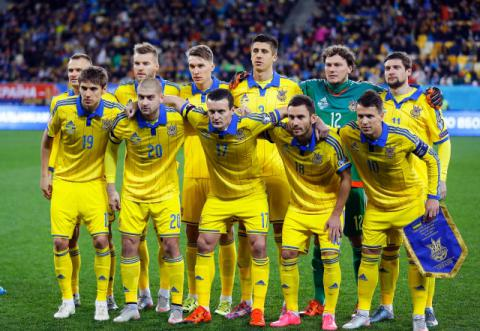 Ukraine's national football team moved 5 positions up in FIFA rating