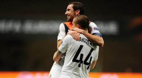 UEFA Europa League: Shakhtar Donetsk defeats Braga 1-2 (VIDEO)