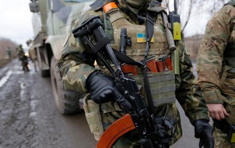 One Ukrainian serviceman killed, 12 wounded in Donbas last day - Presidential Administration