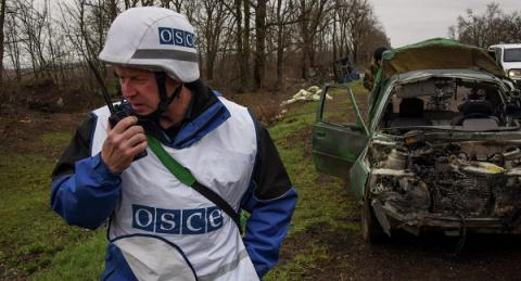 Ukraine's JCCC: Militants trying to to make OSCE observers refuse from 'mirror patrolling'
