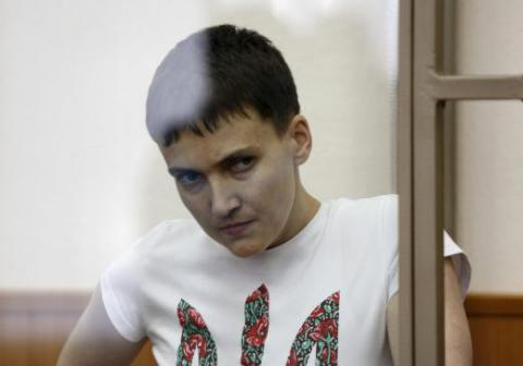 Savchenko will stay in detention - Russian doctors found no reasons to hospitalize her