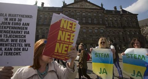 Referendum on Ukraine-EU association: Netherlands to find a solution in 6 months
