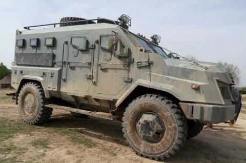 New Varta armored vehicles tested in Ukraine (VIDEO)