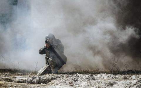 Pro-Russian forces shelled Ukrainian positions 46 times over last 24 hours - ATO press center