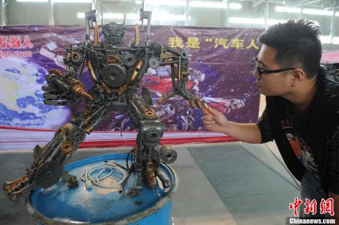 China's growing army of DIY Transformers (PHOTO)