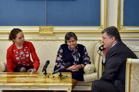 Savchenko agreed to cease the dry hunger strike - Ukrainian President