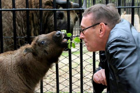 Legendary Red Book creature lives in Mykolaiv zoo, southern Ukraine