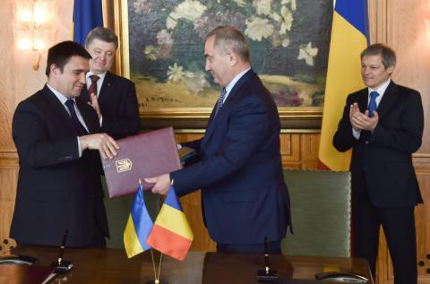 Kyiv, Bucharest signed agreement on cooperation in military traffic