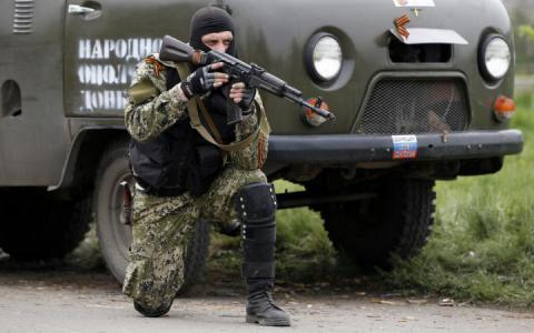 "ATO zone: Under the guise of ""Training for the 9th of May  parade"" the militants are tightening the heavy weapons"