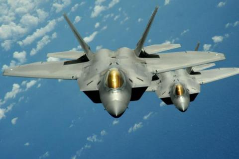U.S. deployed F-22 jets to Romania