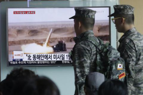 Suspected midrange North Korean missile crashed - South Korea