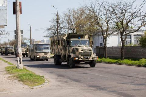 Additional National Guard units deployed in Odesa for public security on Easter