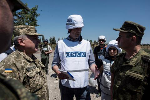 Arming of OSCE SMM employees in Donbas requires all 57 OSCE members approval – Secretary General