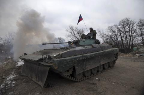 OSCE discovered tanks, howitzers belonging to militants near Luhansk