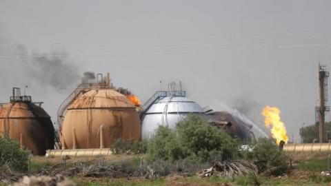 IS attacks gas plant north of Baghdad, killing 11