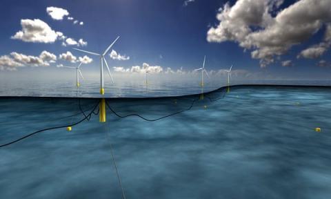 World's largest floating windfarm to be built off Scottish coast