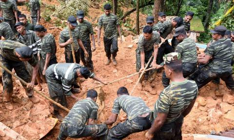 Hundreds missing after landslides destroyed at least three Sri Lankan villages
