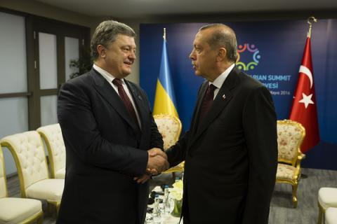 Ukrainian, Turkish presidents agreed on protection of investments, avoidance of double taxation