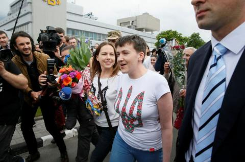 Savchenko lawyers decline to say if she asked to be pardoned