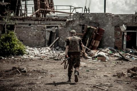 28 attacks from Russian-backed forces reported in eastern Ukraine