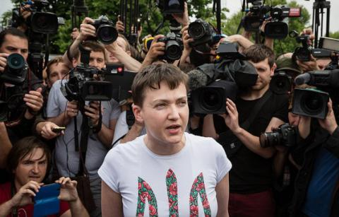 Savchenko to enter Ukrainian Parlament's Committee on National Security and Defense