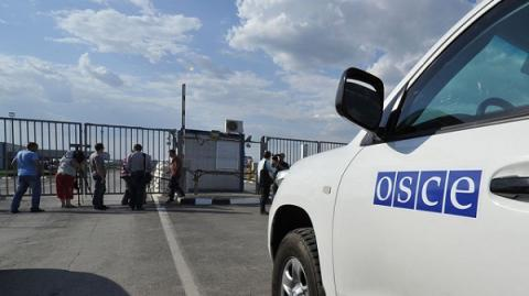 OSCE SMM patrol was attacked near Avdiivka, Donetsk region