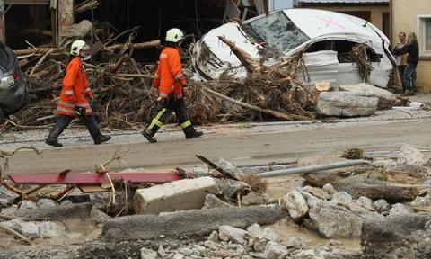 Severe floods hit southern Germany; 4 died, several injured
