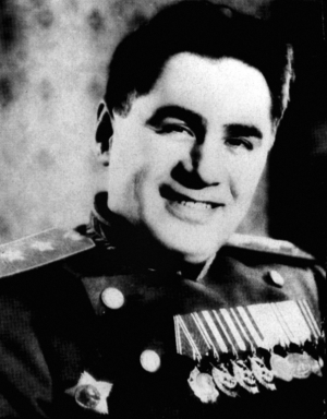 Soviet Security officer Pavel Sudoplatov, who acted as a negotiator with Hitler (through an intermediary)
