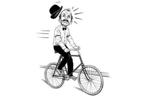 In 1890s, peoles feared bicycle could cause face disorder