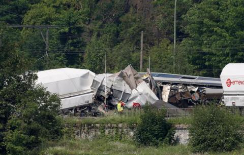 Passenger, freight trains crash in Belgium, killing three