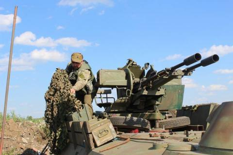 1 Ukrainian serviceman killed, 7 injuried in Donbas over past day