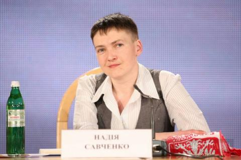 Savchenko ready to negotiate with 'DPR', 'LPR' leaders to decrease tension in Donbas