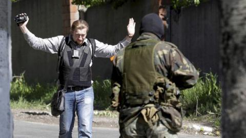 14 journalists killed during Donbas military conflict - Parubiy
