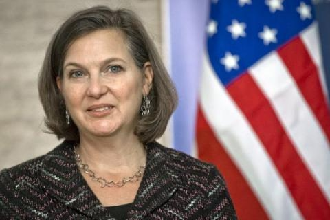 Nuland: U.S. 'press Moscow to bring end to violence in Ukraine'