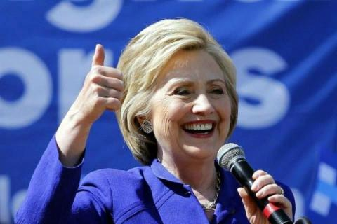 Hillary Clinton wins battle for Democratic presidential nomination